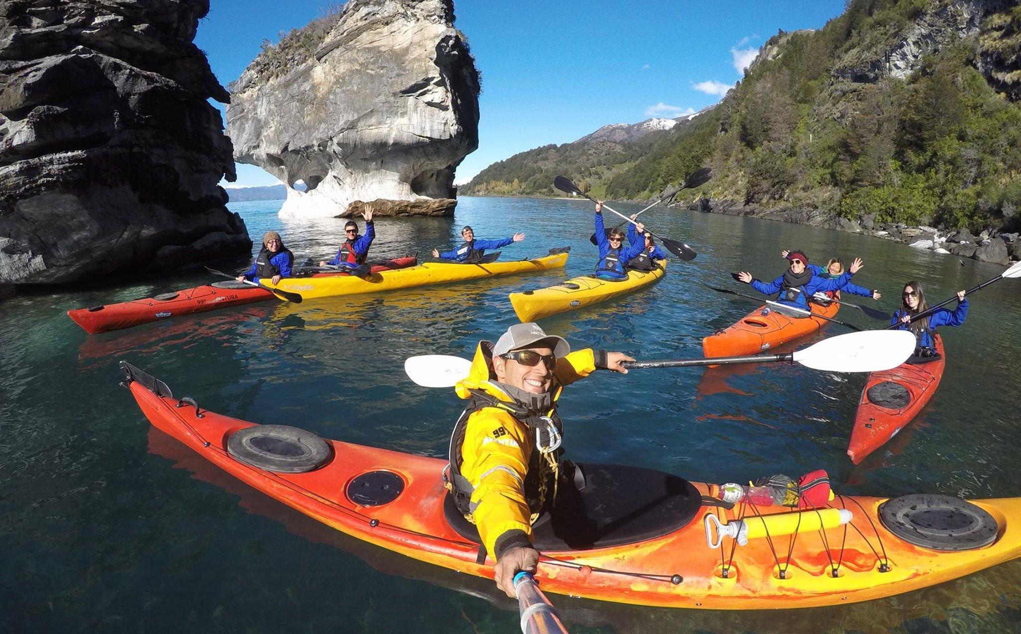 Kayak Capillas de Marmol
