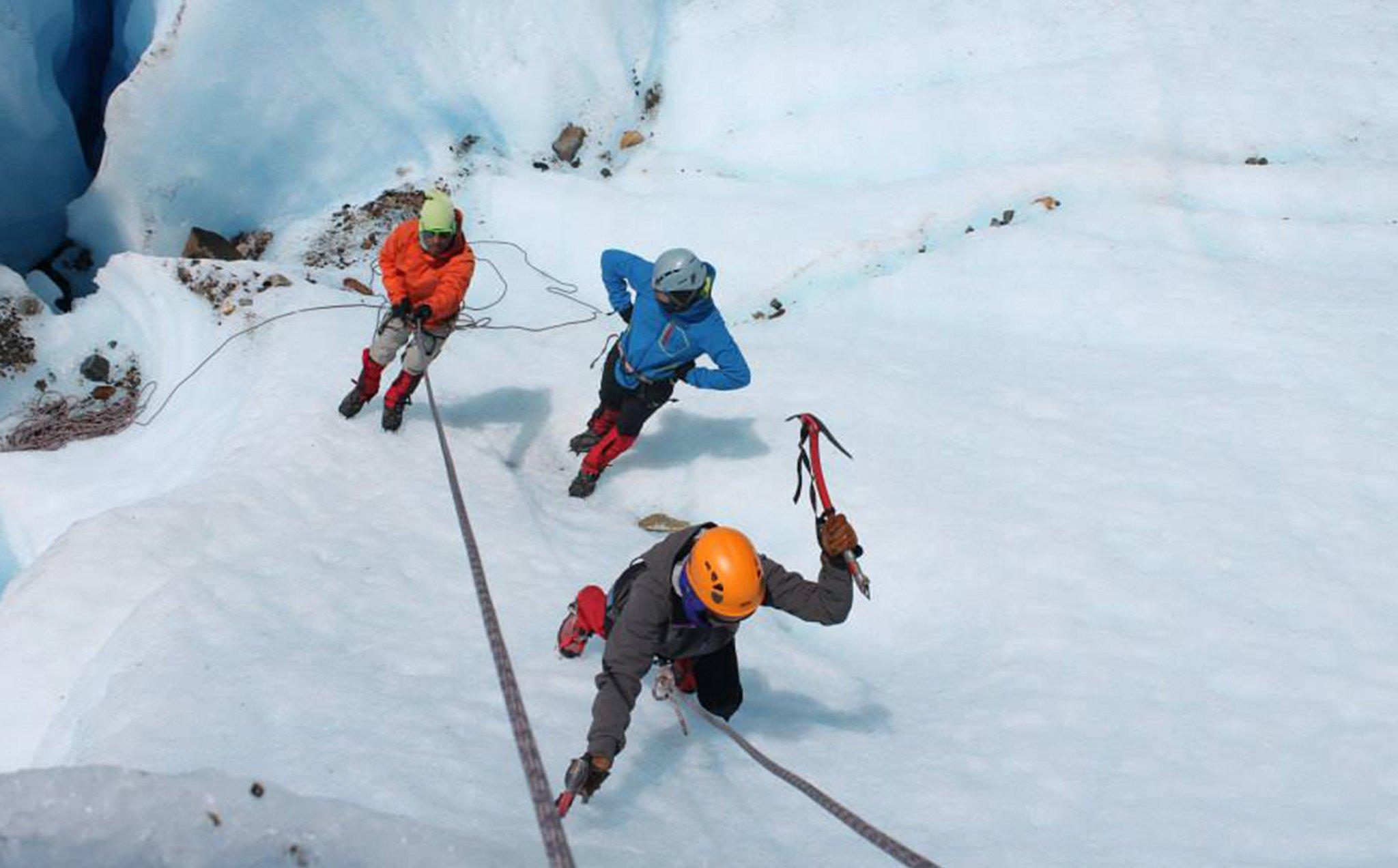 Escalada Glaciar Exploradores