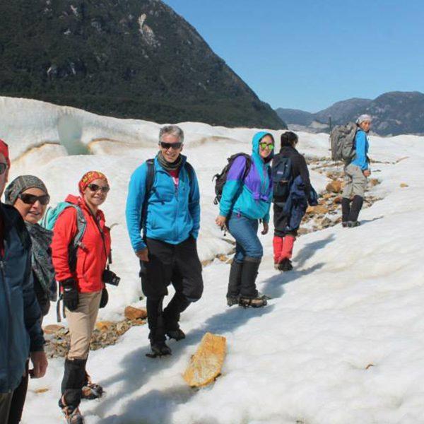 Caminata Glaciar Exploradores Patagonia